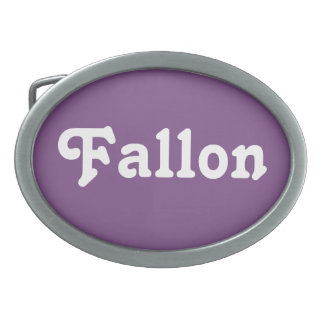Belt Buckle Fallon