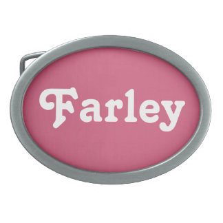 Belt Buckle Farley