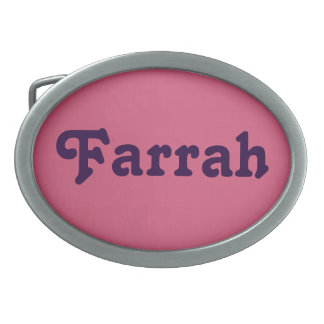 Belt Buckle Farrah