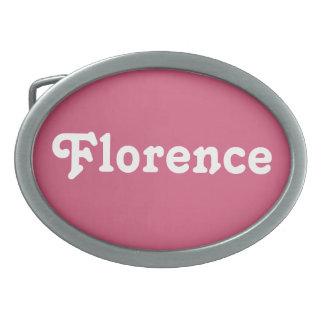 Belt Buckle Florence