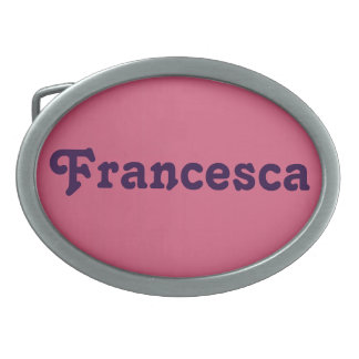 Belt Buckle Francesca