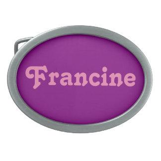 Belt Buckle Francine