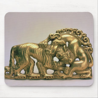 Belt buckle, from a Siberian collection of Peter Mouse Mat