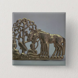 Belt buckle, from Siberian collection of Peter 15 Cm Square Badge