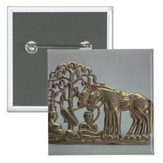 Belt buckle, from Siberian collection of Peter Button