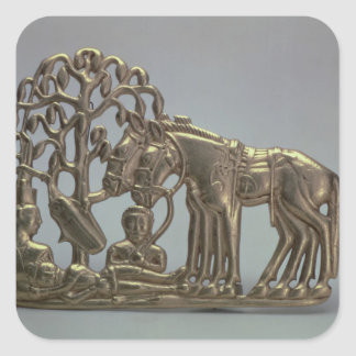 Belt buckle, from Siberian collection of Peter Square Sticker