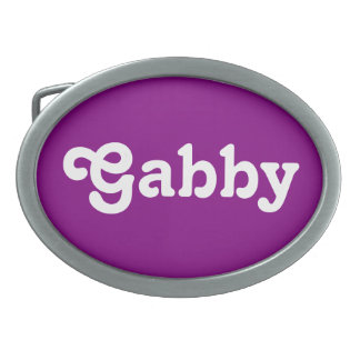 Belt Buckle Gabby