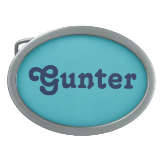 Belt Buckle Gunter