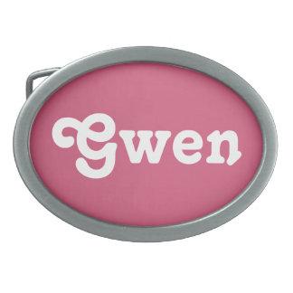 Belt Buckle Gwen