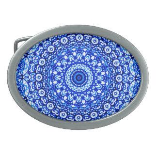 Belt Buckle Mandala Mehndi Style G403