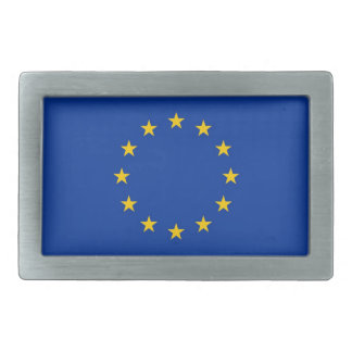 Belt Buckle with Flag of European Union