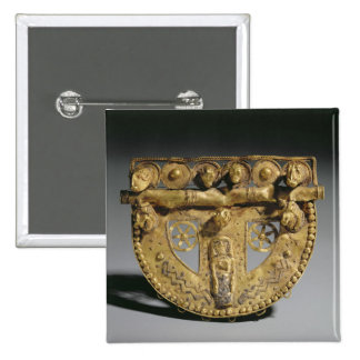 Belt-buckle with granulated decoration, Orientaliz Buttons