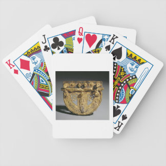 Belt-buckle with granulated decoration, Orientaliz Bicycle Playing Cards