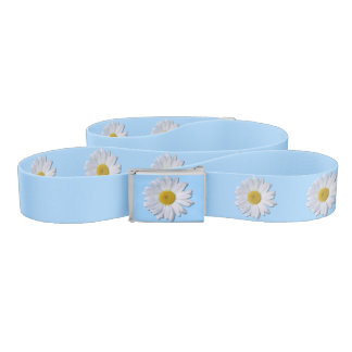 Belt - New Daisy on Blue