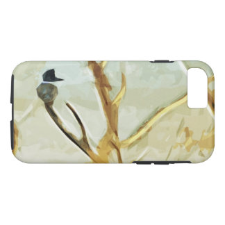 Belted Kingfisher at Rivers Edge iPhone 7 Case