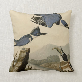 Belted Kingfisher Cushion