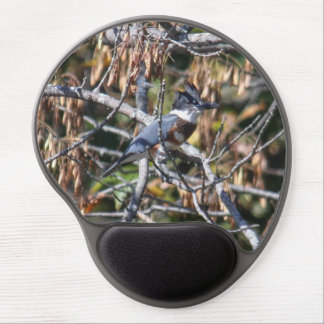 Belted Kingfisher Gel Mouse Pad