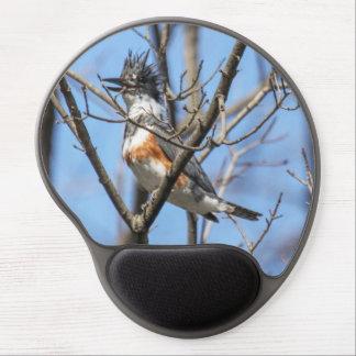 Belted Kingfisher Gel Mousepad