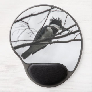 Belted Kingfisher Gel Mouse Mats