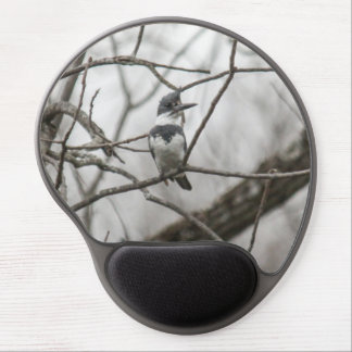 Belted Kingfisher Gel Mousepads