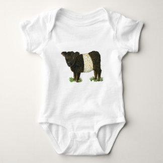 'Beltie' Belted Galloway Baby Bodysuit