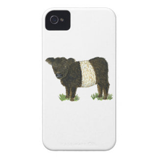 'Beltie' Belted Galloway iPhone 4 Cover