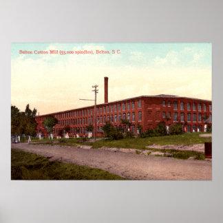 Belton, South Carolina Belton Cotton Mill Poster