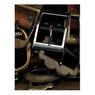 Belts & Buckles Postcard