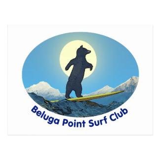 Beluga Point Surf Club Postcard