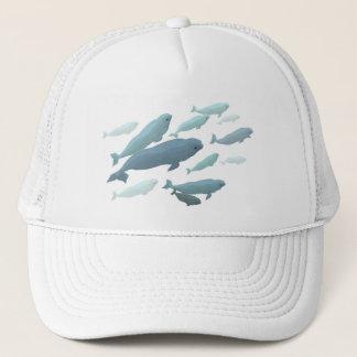 Beluga Whale Baseball Cap & Blue Beluga Gifts