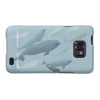 Beluga Whale Galaxy S2 Case Whale Smartphone Case