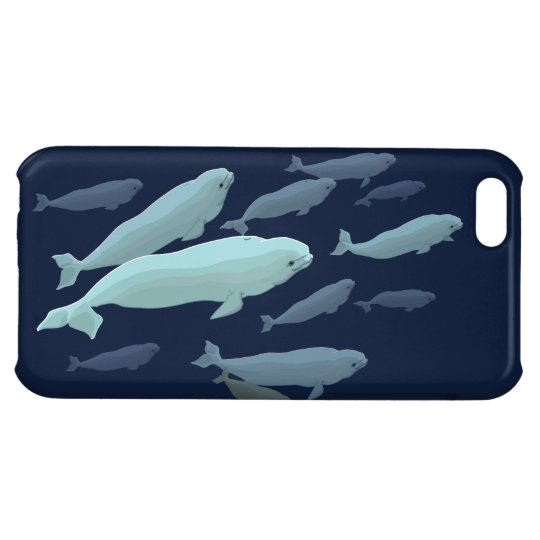 Beluga Whale iPhone5 Case Whale Smartphone Cases iPhone