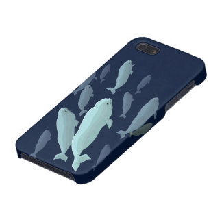 Beluga Whale iPhone5 Case Whale Smartphone Cases iPhone 5/5S Cases