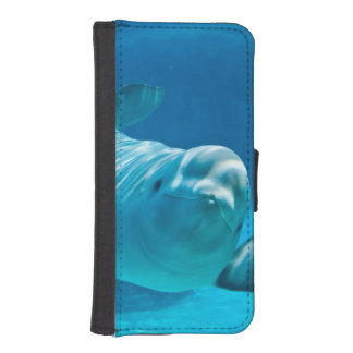 Beluga Whale iPhone SE/5/5s Wallet Case