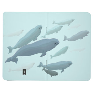 Beluga Whale Journal Whale Notebook Sketchpad