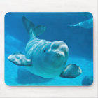 Beluga Whale Mouse Mat