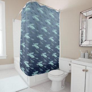 Beluga Whale Shower Curtains Whale Art Bath Decor