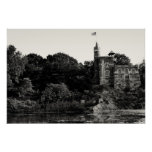 Belvedere Castle, Central Park NYC Poster