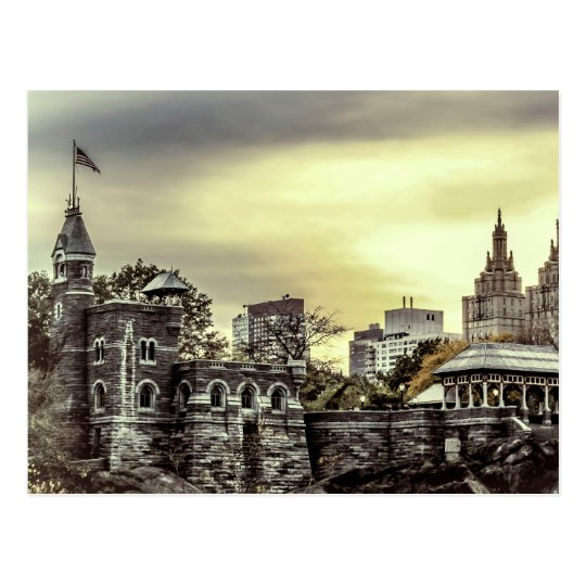 Belvedere Castle in Central Park, NYC Photo Postcard