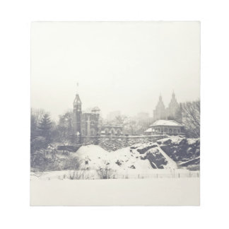 Belvedere Castle in the Winter in Central Park Notepad