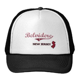 Belvidere New Jersey City Classic Trucker Hats