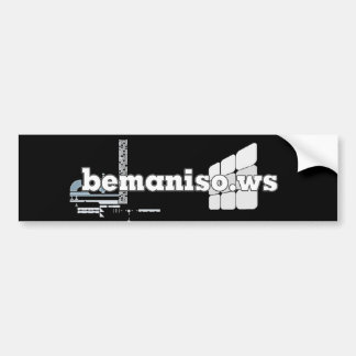#bemaniso stickit bumper stickers