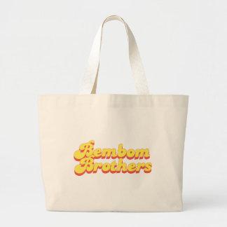 Bembom Brothers :pogo Large Tote Bag