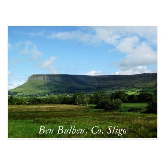 Ben Bulben, Co Sligo Ireland Postcard