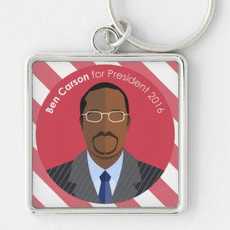 Ben Carson 2016 for president custom key chain