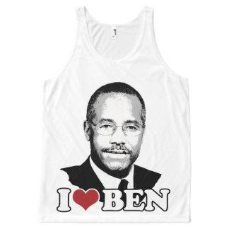 Ben Carson Face All-Over Print Tank Top