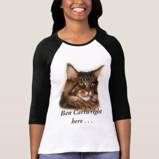 Ben Cartwright Here Maine Coon Cat jersey t-shirt