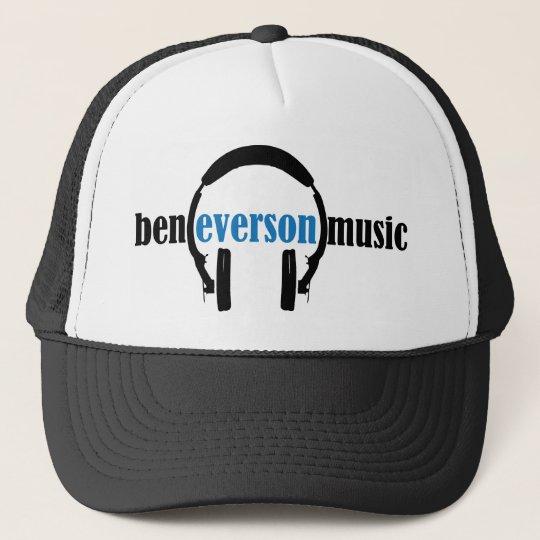 Ben Everson Music logo looks classic! Cap
