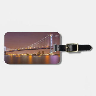 Ben Franklin Bridge Bag Tag