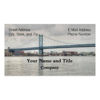 Ben Franklin Bridge Business Cards